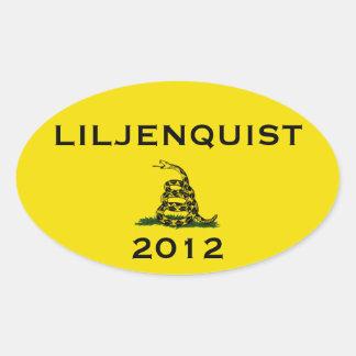 Dan Liljenquist 2012 sticker