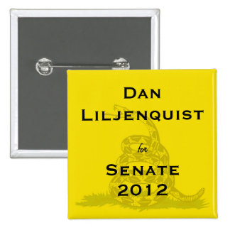 Dan Liljenquist para el botón de la fiesta del té  Pins