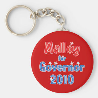 Dan Malloy for Governor 2010 Star Design Keychain