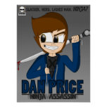Dan Price: Ninja Assassin Poster