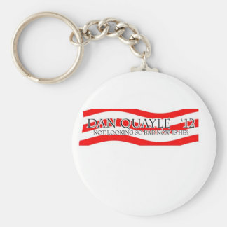 Dan Quayle - Not So Bad Basic Round Button Keychain