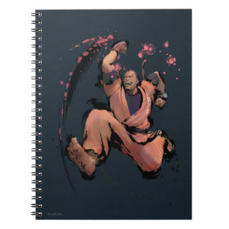 Dan Running Spiral Notebook