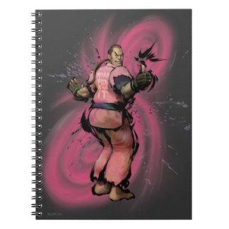 Dan Taunt Spiral Notebook