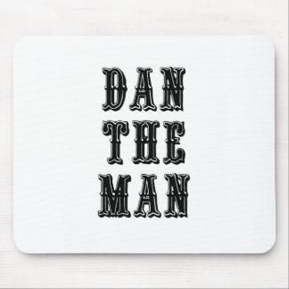 Dan the Man Mouse Pad