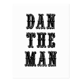 Dan the Man Postcard