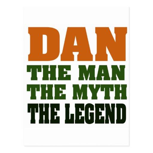 Dan - the Man, the Myth, the Legend! Postcards