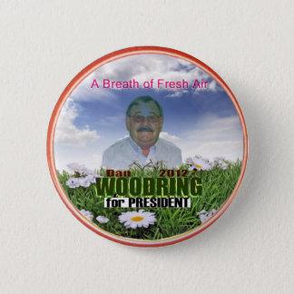 Dan Woodring for President 2012 Pinback Button