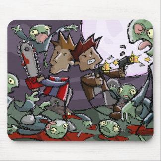 Dan y Ben contra Algunos zombis Alfombrillas De Ratones