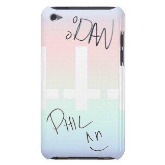 Dan y caja dedicada Phil de iPod 4g, iPod Touch Case-Mate Coberturas