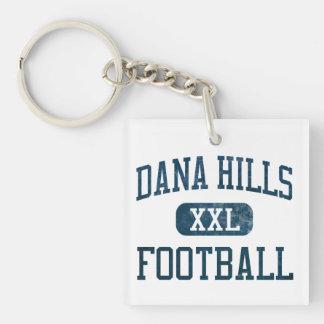 Dana Hills Dolphins Football Keychain