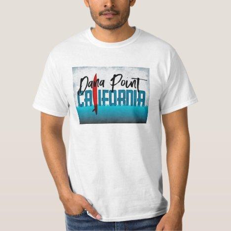 Dana Point California Surfboard Surfing T-Shirt