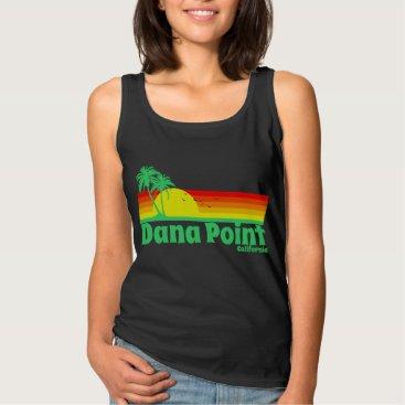 Beach Themed Dana Point California Tank Top