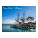 Dana Point Harbor Postcard