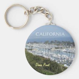 Dana Point marina keychain