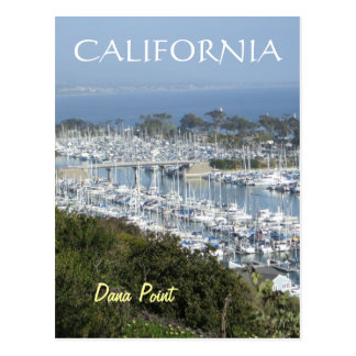 Dana Point marina postcard (v)