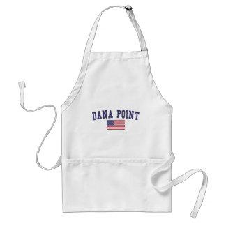 Dana Point US Flag Adult Apron