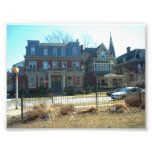 Dana Tillou House in Buffalo NY Photograph