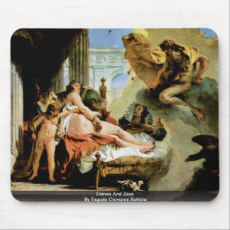 Danae And Zeus By Tiepolo Giovanni Battista Mouse Pads