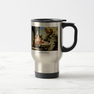 Danae And Zeus By Tiepolo Giovanni Battista 15 Oz Stainless Steel Travel Mug