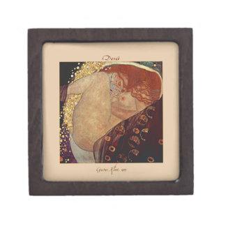Danaë by Gustav Klimt Tiled Box Premium Trinket Boxes