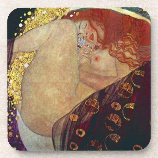 Danae de Gustavo Klimt Posavasos De Bebida