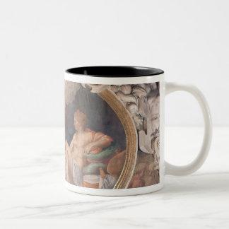 Danae Receiving the Shower of Gold Two-Tone Coffee Mug