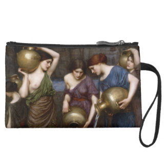 Danaides by John William Waterhouse Wristlet Clutches