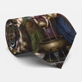 Danaides by John William Waterhouse Neck Tie