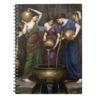 Danaides de John William Waterhouse Libreta