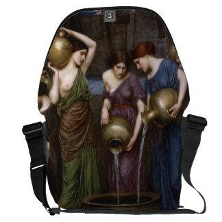 Danaides John William Waterhouse Large Messenger Bag