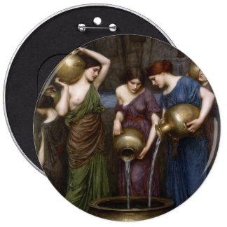 Danaides John William Waterhouse Pinback Button