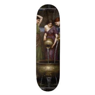 Danaides John William Waterhouse Skateboard Deck
