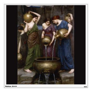 Danaides John William Waterhouse Wall Decal