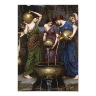 Danaides Pre-Raphaelite Waterhouse Art Card