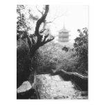 Danang Vietnam, Temple View Marble Mountain Postcard