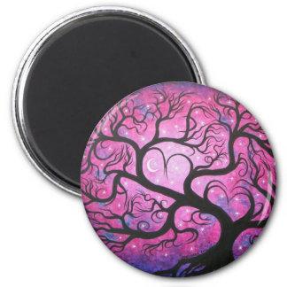 Dana's Tree -magnet 2 Inch Round Magnet