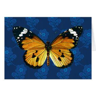Danaus chrysippus butterfly card