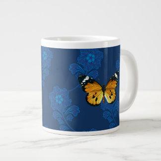 Danaus chrysippus butterfly extra large mugs