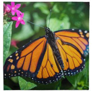 Danaus Plexippus del monarca Servilleta Imprimida