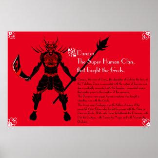 Danavas, those who fought the Gods Poster