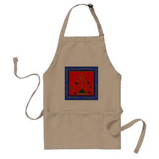Danbhalah la flambeau adult apron