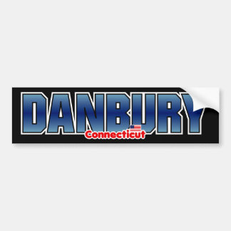 Danbury Bumper Bumper Sticker