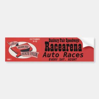 Danbury Fair Racearena Bumper Sticker