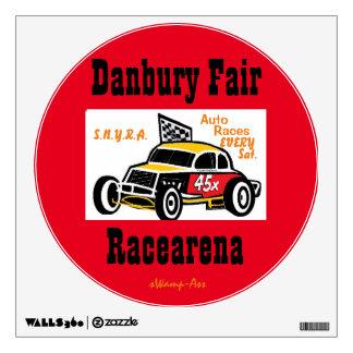 Danbury Fair Racearena SNYRA Wall Decal Races Sat