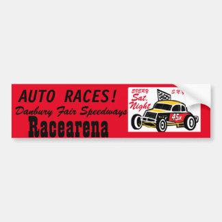 Danbury Fair Speedways Racearena Bumper Sticker