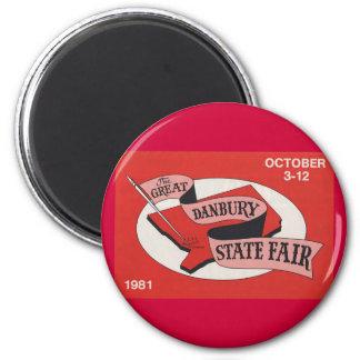 Danbury State Fair Button Magnet