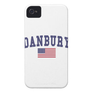 Danbury US Flag iPhone 4 Case-Mate Case