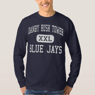 Danby Rush Tower Blue Jays Middle Festus T-Shirt