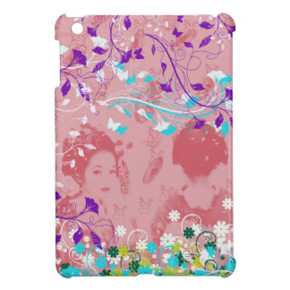 Dance 妓 with flower and invitation cat 3 iPad mini cases