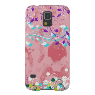 Dance 妓 with flower and invitation cat galaxy s5 covers